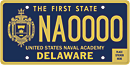 US Naval Academy tag