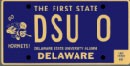 Delaware State University tag