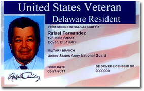 Veteran Identification (ID) Card