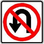 No U-turn