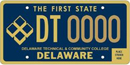 Delaware Technical University tag