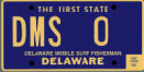 Delaware Mobile Surf Fisherman tag