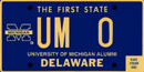 University of Michigan tag