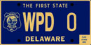 Wilmington Police Dept tag